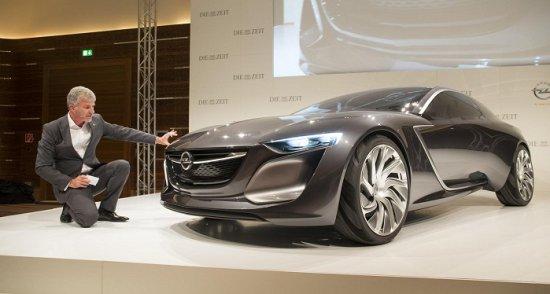 Opel Monza на автосалоне во Франкфурте