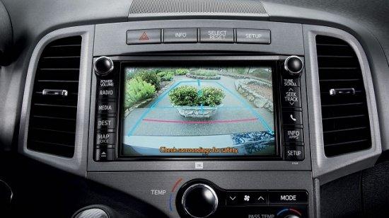 Камера заднего вида в Toyota Venza 2014
