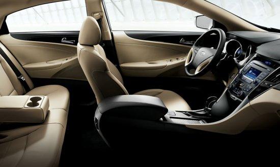 Салон Hyundai Sonata 2013