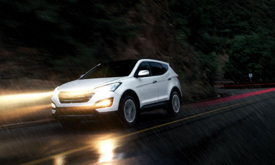Hyundai Santa Fe (Санта Фе) 2014 - обзор, фото, цена, технические характеристики