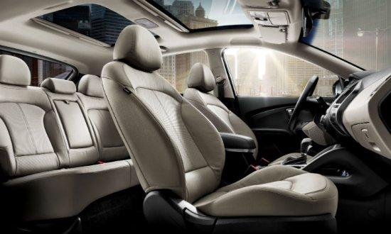 Салон Hyundai ix35 2014 года