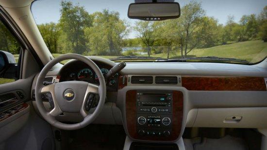Интерьер Chevrolet Tahoe 2014