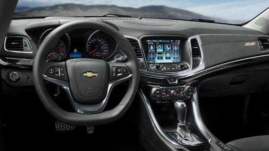 Салон Chevrolet SS 2014