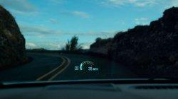 Проекционный дисплей для водителя