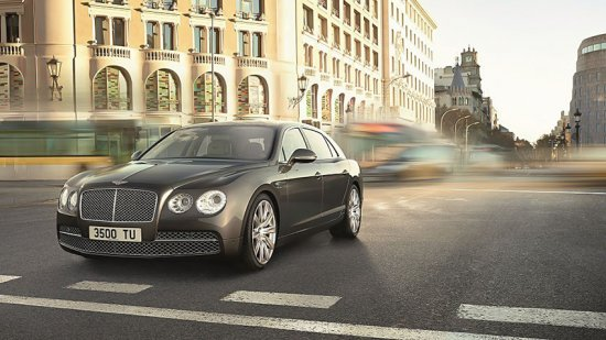 Bentley Flying Spur (Флаинг Спур) 2014 – цена, фото, новинка