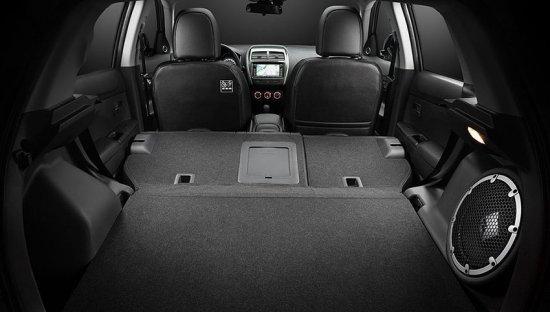 Багажное место Mitsubishi ASX 2014