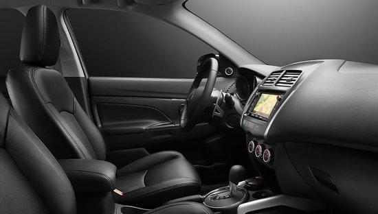 Салон нового Mitsubishi ASX 2014