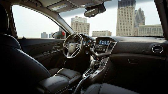 Салон Chevrolet Cruze LTZ