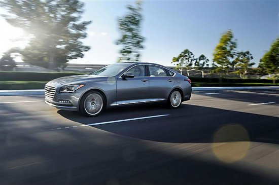 Автомобиль Hyundai Genesis 2015