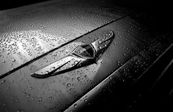 Фирменный знак Hyundai Genesis