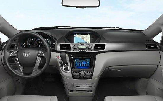 Панель управления Honda Odyssey 2014