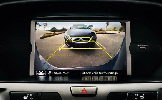 Камера заднего вида Honda Odyssey 2014