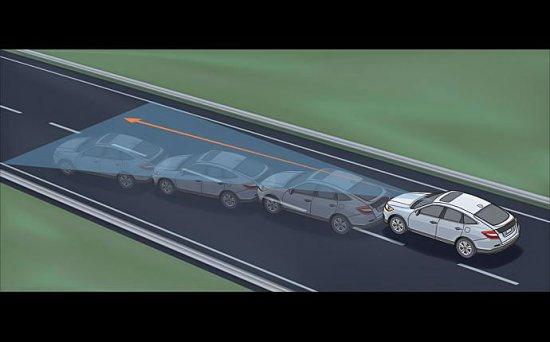 Система безопасности в Honda Crosstour 2014