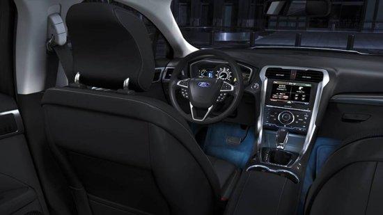 Подсветка в салоне Ford Fusion 2014