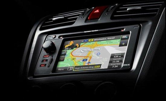 ЖК-дисплей в Subaru Forester 2014