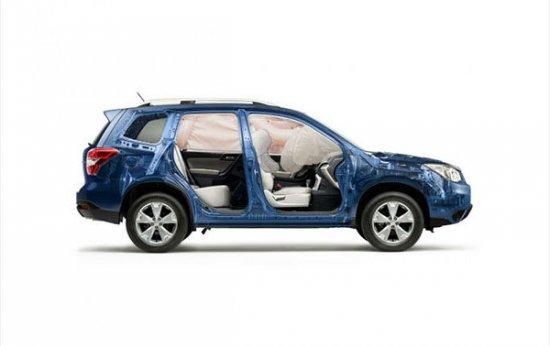 Система безопасности в Subaru Forester 2014