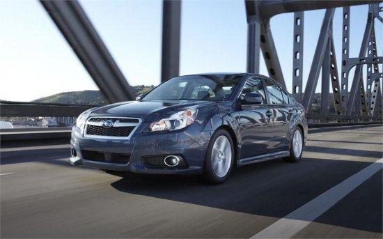 Фото Subaru Legacy 2014