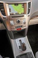 Передняя панель в Subaru Legacy 2014 года