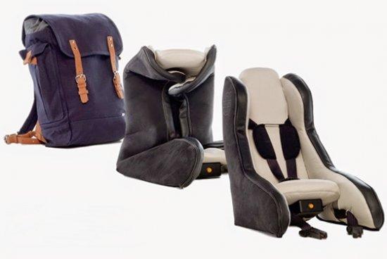 Детское надувное кресло от Volvo