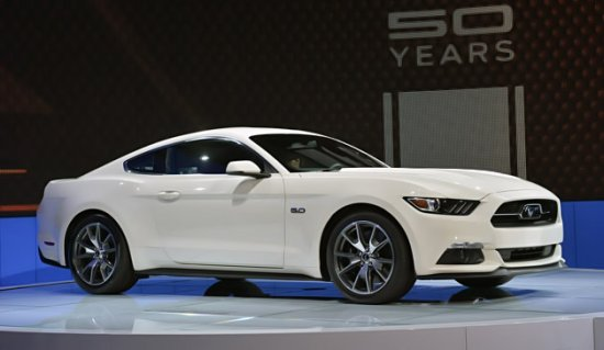 Ford Mustang к 50-летию