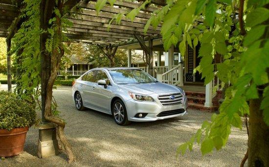 Subaru Legacy 2015 Рейтинг, Характеристики, Цена и Фото
