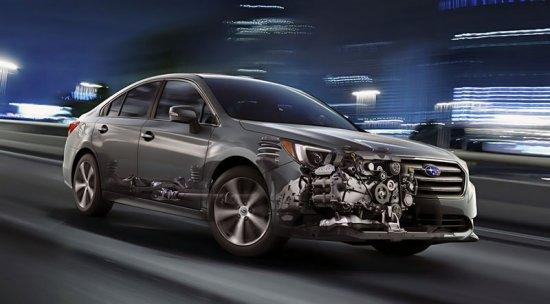 Двигатель в Subaru Legacy 2015