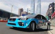 Гоночный Subaru WRX STi Rallycross