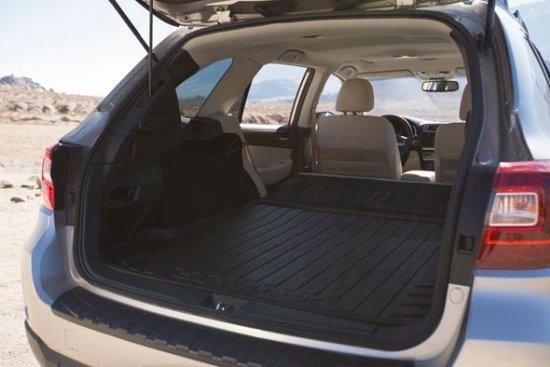 Багажное отделение в Subaru Outback 2015