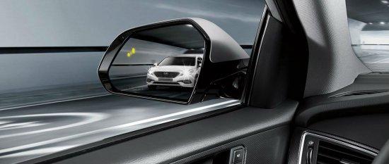 Функция безопасности в Hyundai Sonata 2015 года