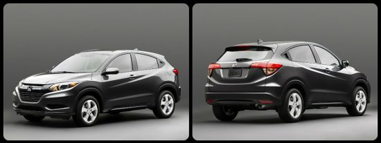 Возвращение на рынки внедорожника Honda Vezel