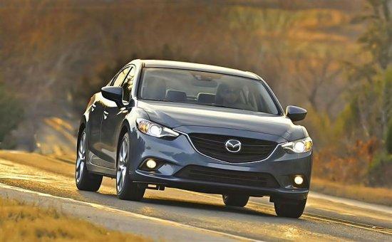Третье поколение Mazda 6 2014 года
