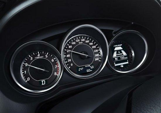 Приборная панель водителя в Mazda 6 2014