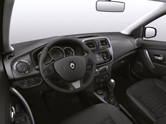 Приборная панель в новом Renault Logan