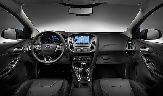 Внутренний вид Ford Focus 2015 года