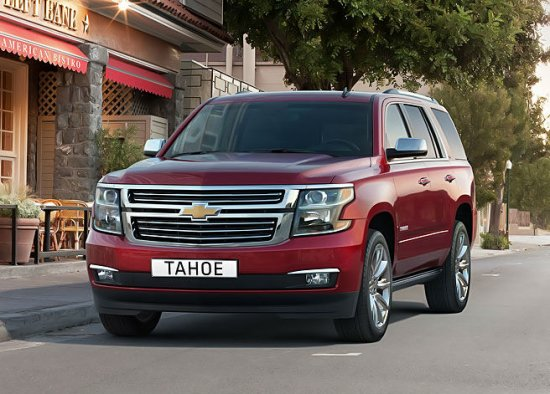 Chevrolet Tahoe (Тахо) 2015 Цена, Фото, Рейтинг и Технические характеристики