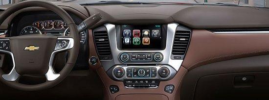 Передняя панель в Chevrolet Tahoe 2015