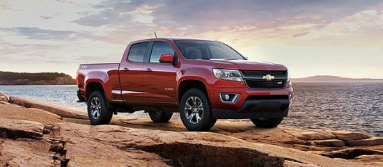 Фото Chevrolet Colorado 2015