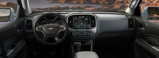 Передняя панель Chevrolet Colorado 2015