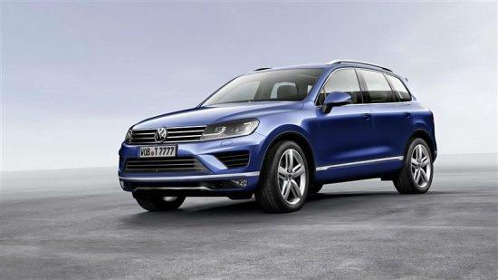 Новый Volkswagen Touareg 2015