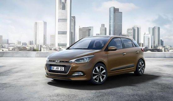 Hyundai i20 2015 года