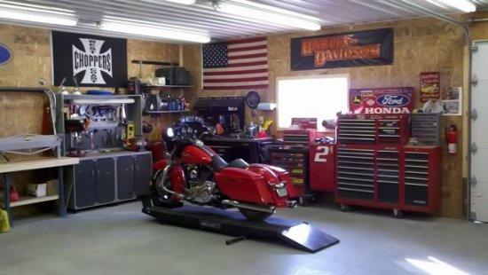 Правильная консервация мотоцикла на зиму