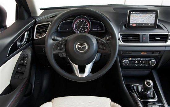 Дисплей водителя Mazda 3 2015
