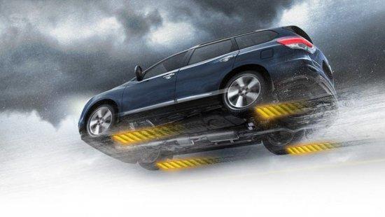 Вид снизу Nissan Pathfinder 2015
