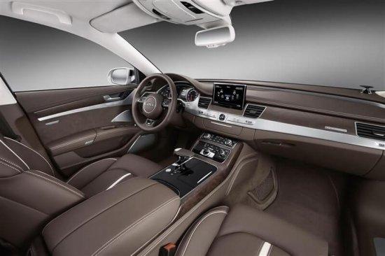 Салон в Audi A8 2015