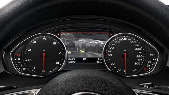 Функция безопасности в Audi A8