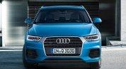 Синий металлик Audi Q3 2015