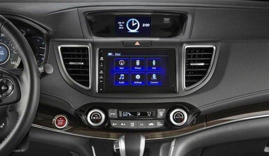 Мультимедийная система в Honda CR-V 2015