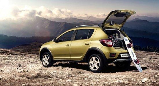 Renault Sandero Stepway для семейного отдыха