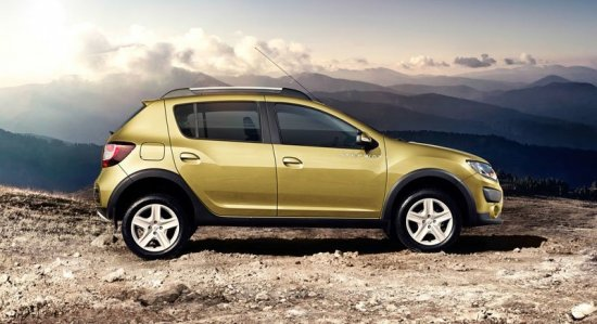Renault Sandero Stepway: вид сбоку