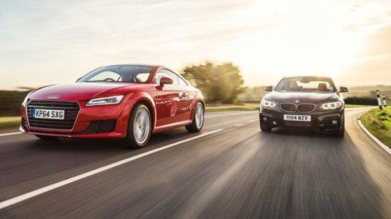 Спорткупе Audi TTS и BMW M235i
